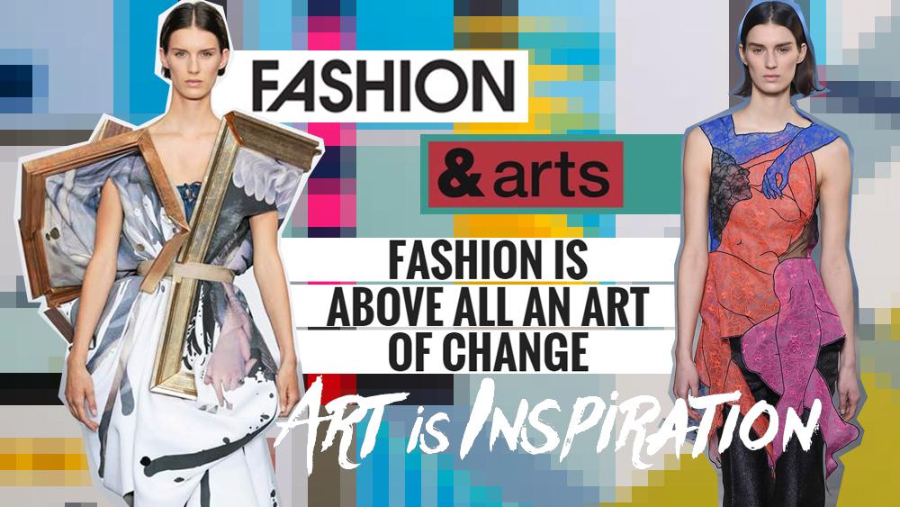 Cuando el arte se une con la Moda | Universidad Jannette Klein